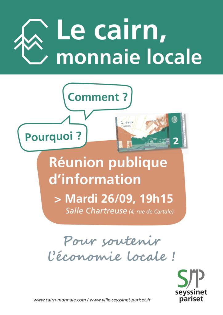 Réunion Publique d'information à Seyssinet @ Salle Chartreuse
