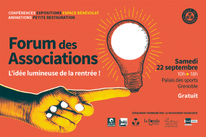 Forum des Associations @ Palais des sports - Grenoble